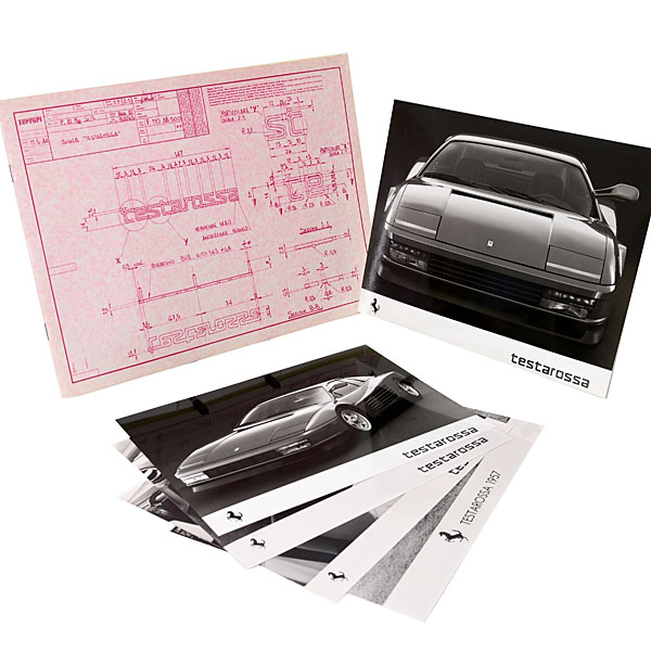 Ferrari Testarossa Press Kit