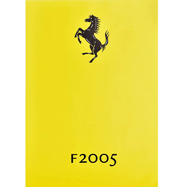 Scuderia Ferrari F2005 Press Card
