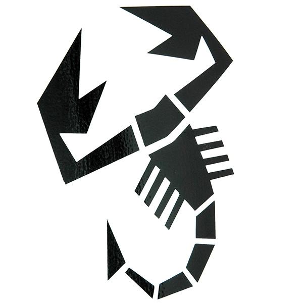ABARTH (Scorpion) Sticker (Large) : Italian Auto Parts & ets
