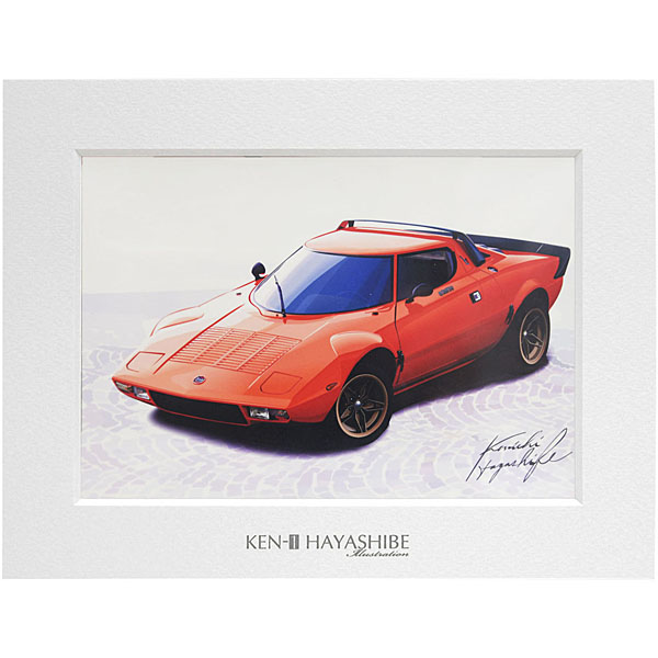 LANCIA Stratosイラストレーション by 林部研一<br><font size=-1 color=red>07/14到着</font>