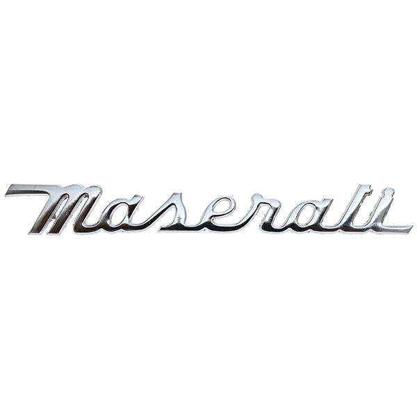 maserati script emblem   italian auto parts  u0026 gagets
