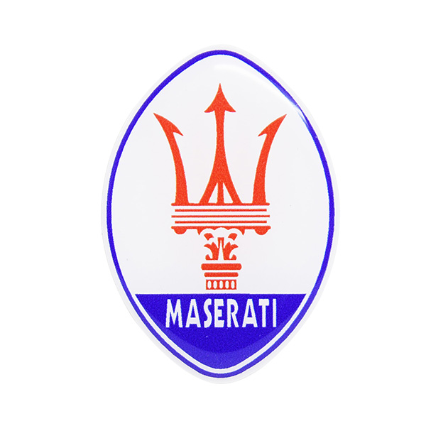 maserati emblem 3d sticker italian auto parts gagets. Black Bedroom Furniture Sets. Home Design Ideas