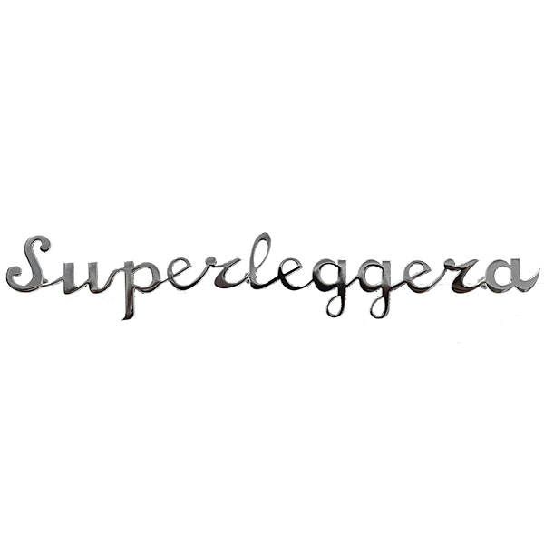 TOURING Superleggera Logo Script 165mm