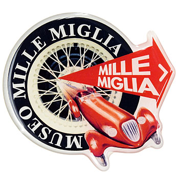 MUSEO MILLE MIGLIA純正3Dステッカー
