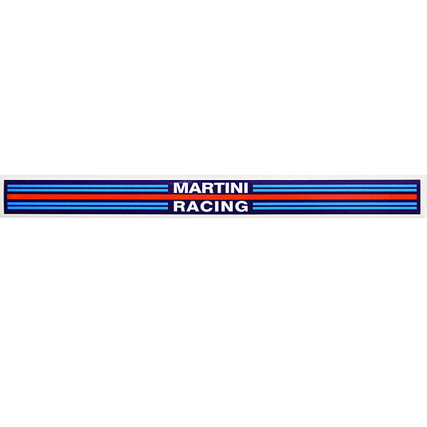 MARTINI RACINGバイザーステッカー<br><font size=-1 color=red>11/19到着</font>
