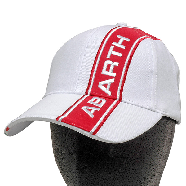 eb9b2827686 FIAT ABARTH Baseball Cap (White)