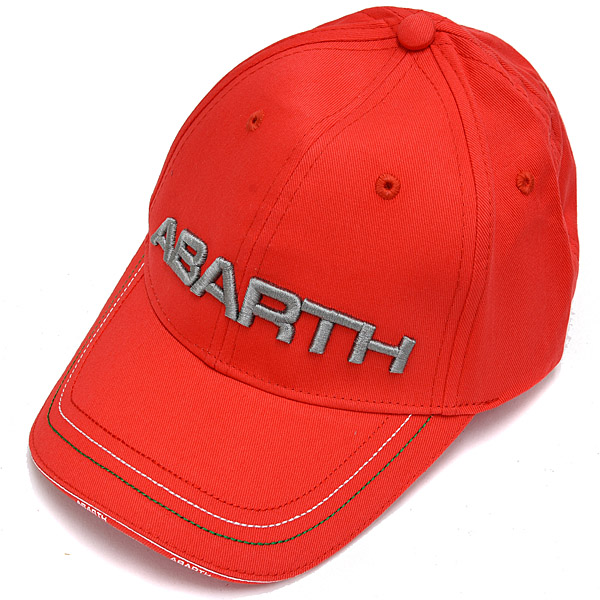 29eb96ae48c FIAT ABARTH Baseball Cap (Red)