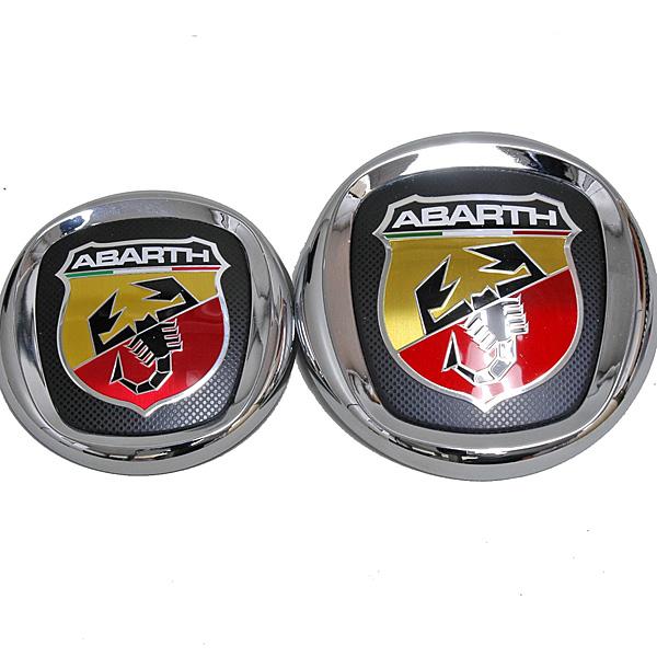 FIAT NEW ABARTH EMBLEM (FRONT) : Italian Auto Parts & ets