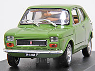 1/43 FIAT Story Collection No.4 127  1971年ミニチュアモデル