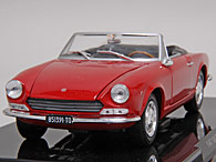 1/24 Quattroruote Collection FIAT 124 SPIDERミニチュアモデル