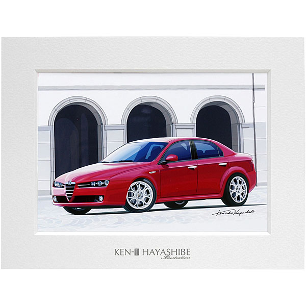 Alfa Romeo 159イラストレーション by 林部研一<br><font size=-1 color=red>11/18到着</font>